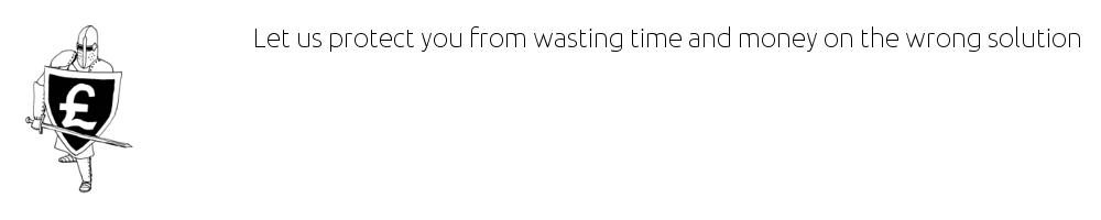Wasting money slide
